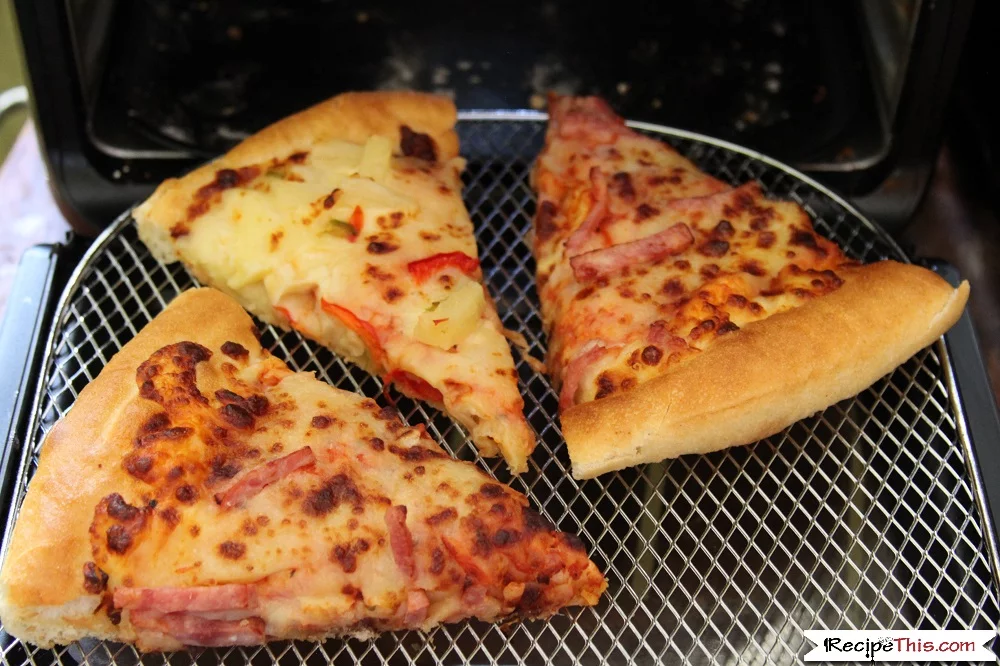 How To Reheat Pizza In An Air Fryer Recipe (With images