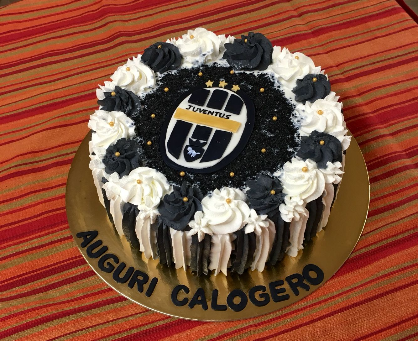 Torta Compleanno Juventus Panna