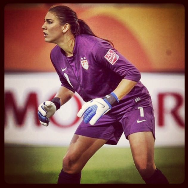 Hope Solo | Hope solo, Uswnt, Sports jersey