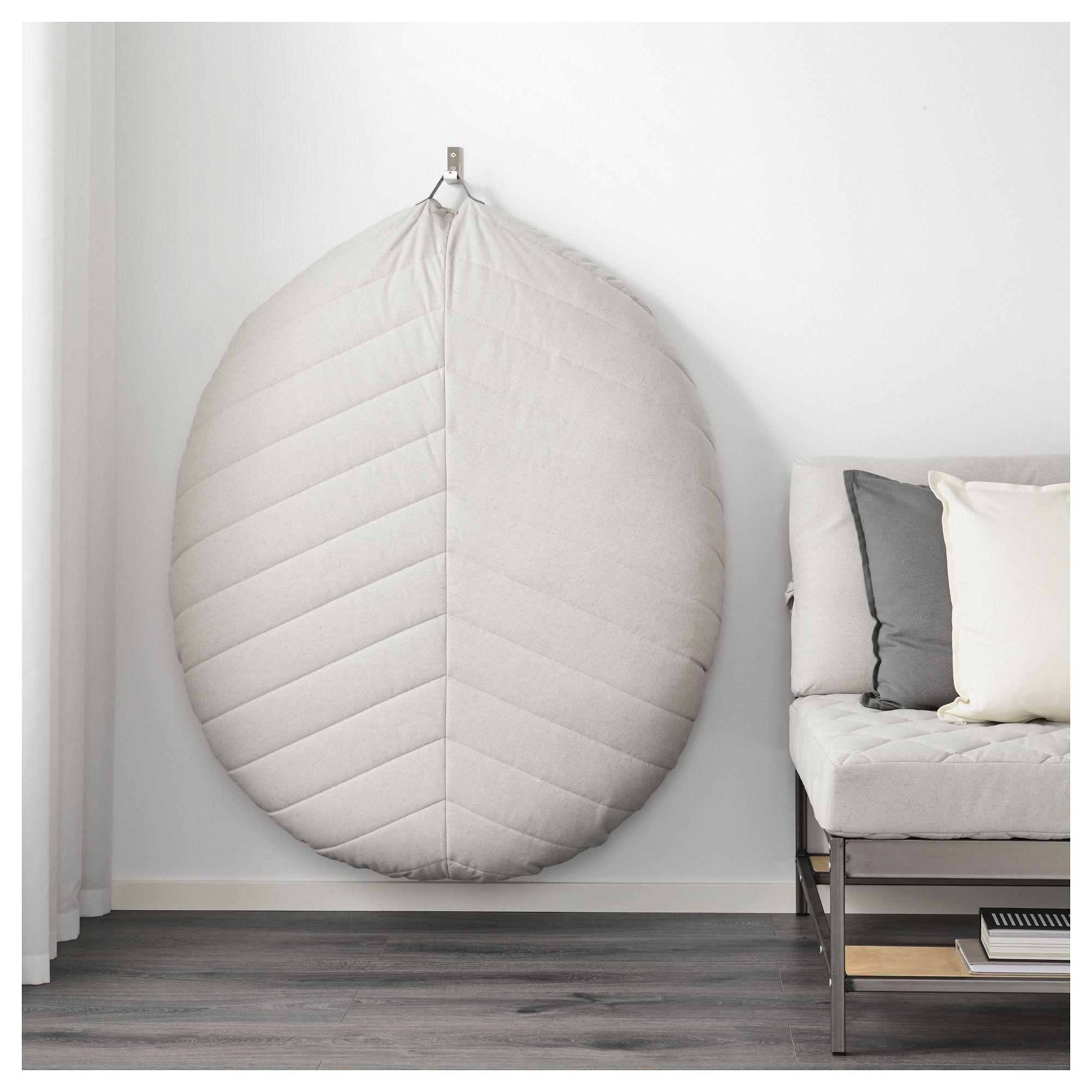IKEA DIHULT Pouffe Katorp natural Floor pillows, Asian