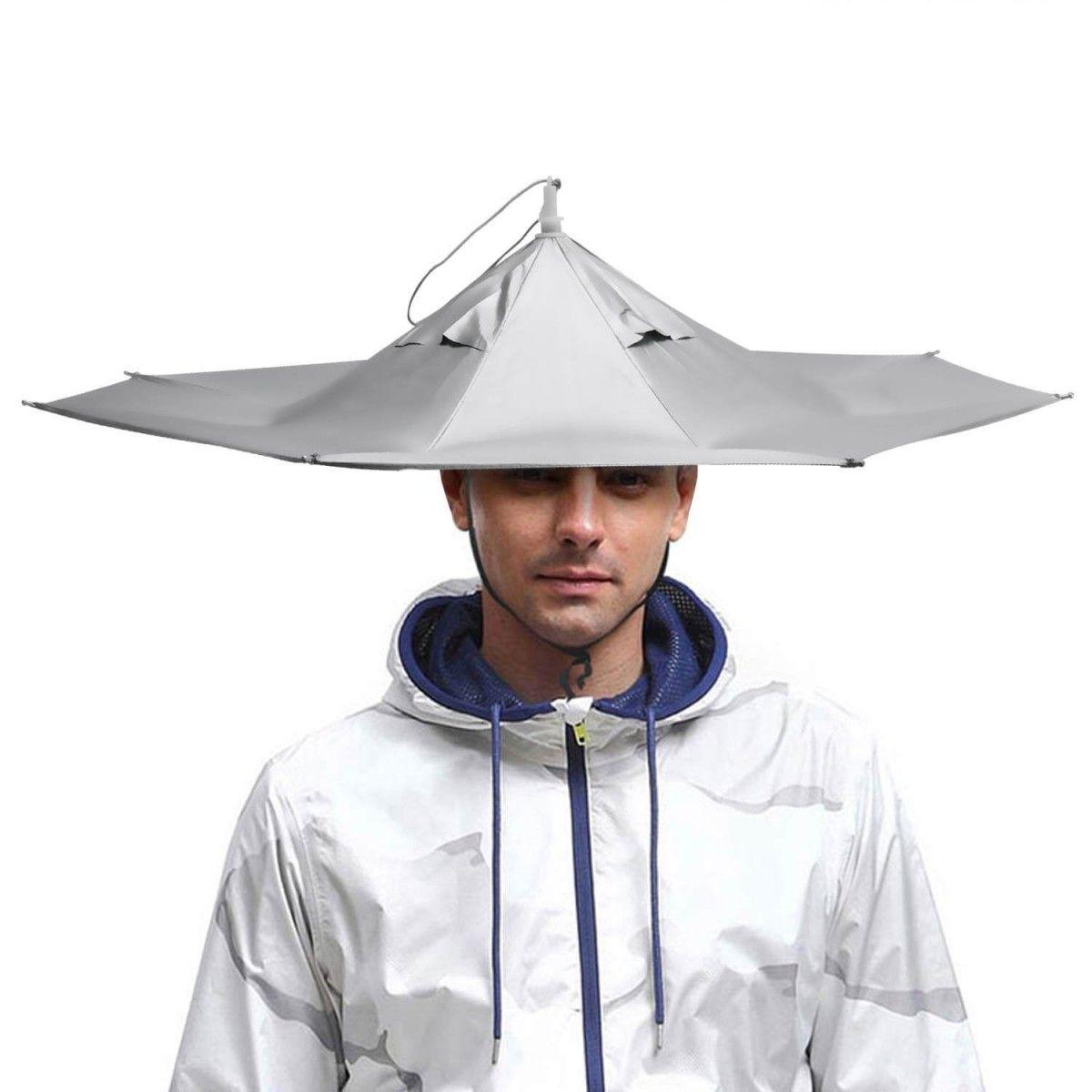 Umbrella Hat Top 10 Cool Umbrella Hats Hand Picked Unisex Cool Umbrellas Fishing Umbrella Rain Cap