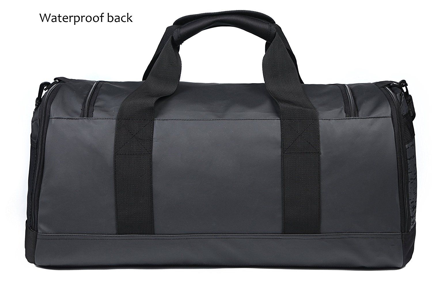 MIER Mens Holdall Gym Bag Sports Duffel Bag with Shoes Compartment for  Weekender, Overnight, d95df66f62