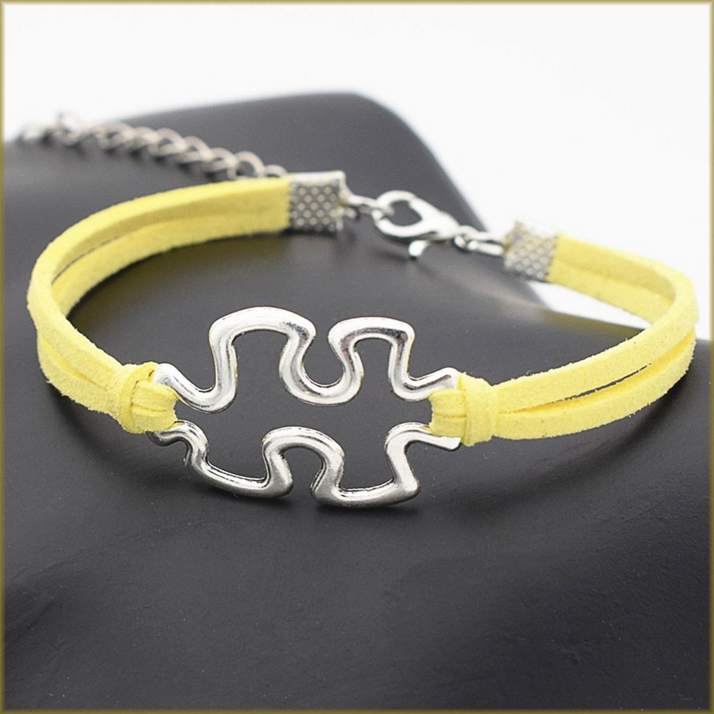awareness style large pin charm charms puzzle for plated bracelet or a silver asperger beads european hole autism