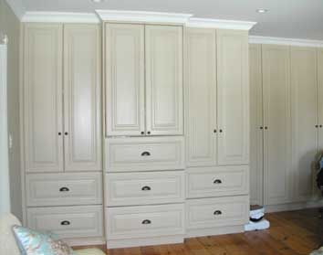 Built In Cabinets Using Stock Cabinets In The Bedroom   Google Search