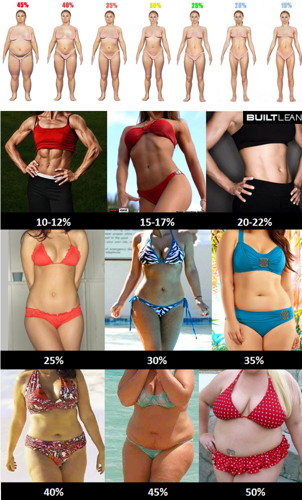 How To Get Down To 15 Body Fat Female
