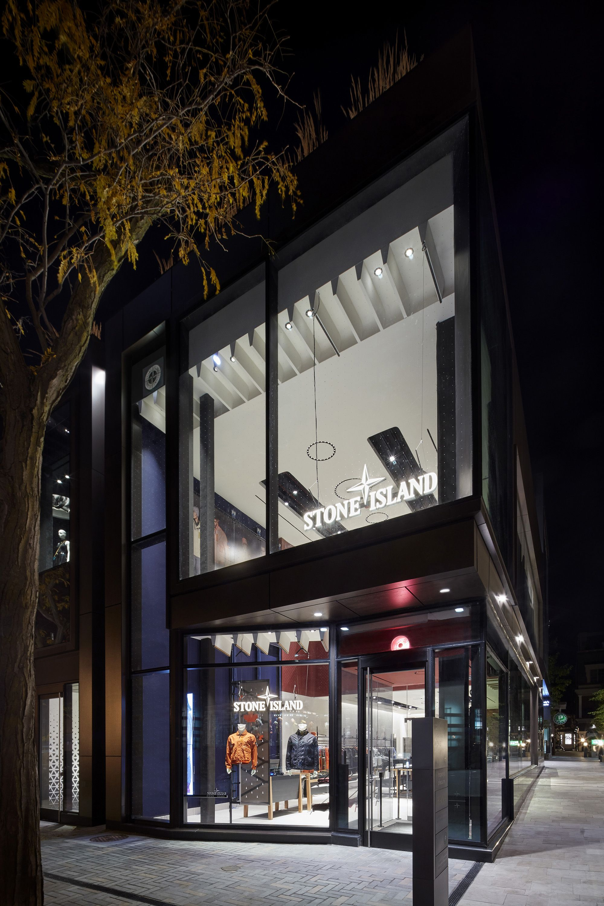The Stone Island Store in Toronto at 104 Yorkville Ave