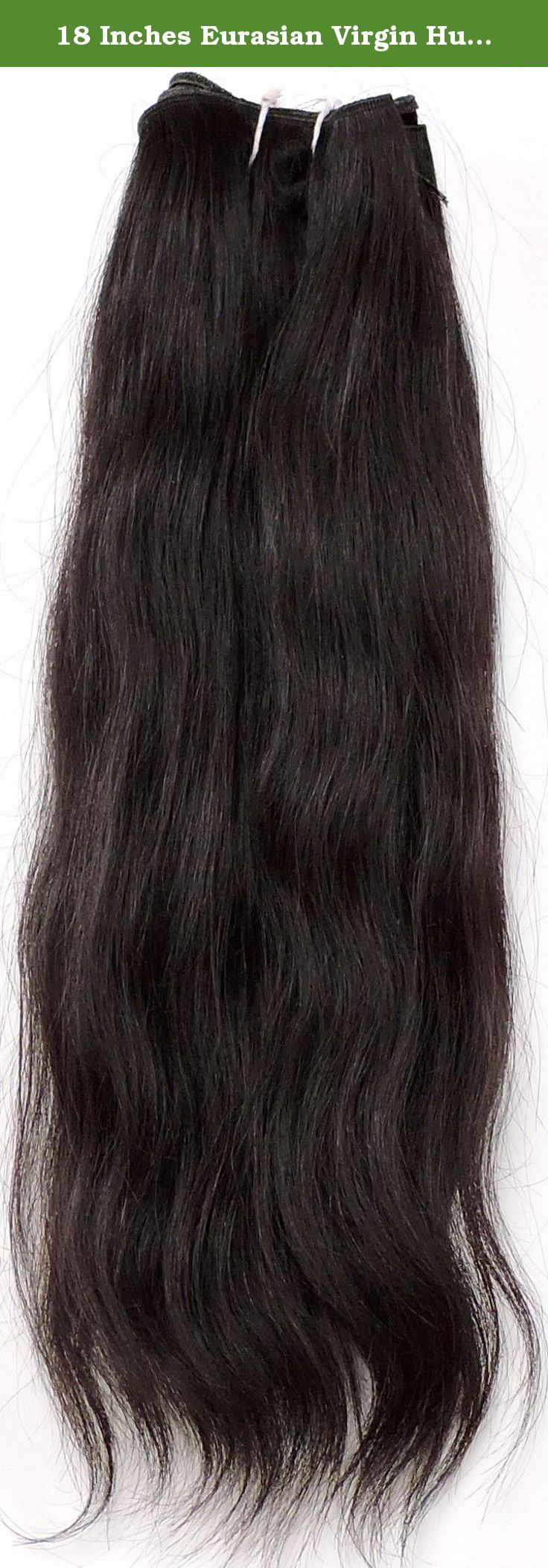 18 Inches Eurasian Virgin Human Hair Extensions W809 This Bundle Is