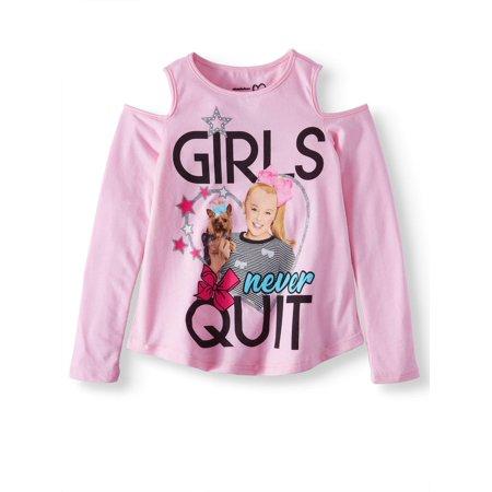 NWT JoJo Siwa Girls Top Short Sleeve T Shirt Tee Be Your Own Star Size  6-12