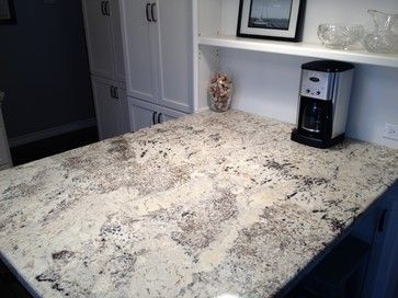 Arctic Cream Granite On Cream Cabinets Love This Granite