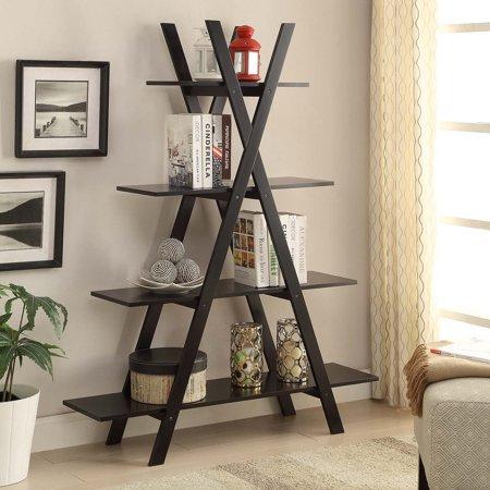 Home A Frame Bookshelf Bookshelves Diy Decor