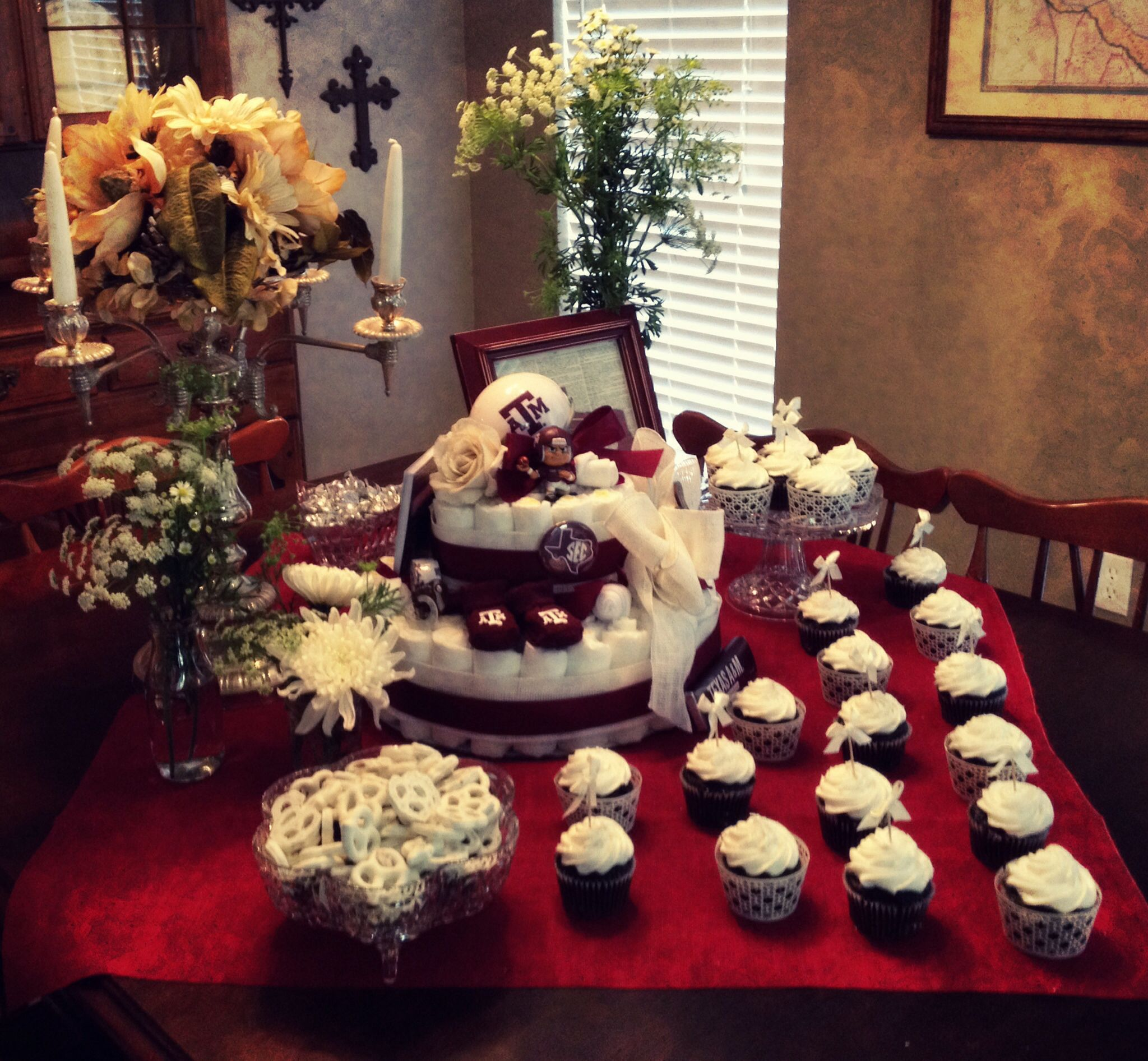 Texas A&M Aggie baby shower