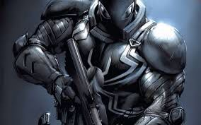 Looks boss I think it's the punisher and venom combined