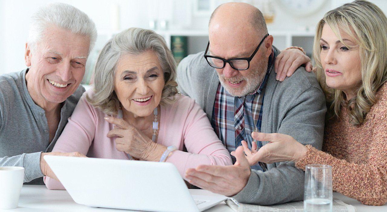 Pin On Mature Adults Tech Training