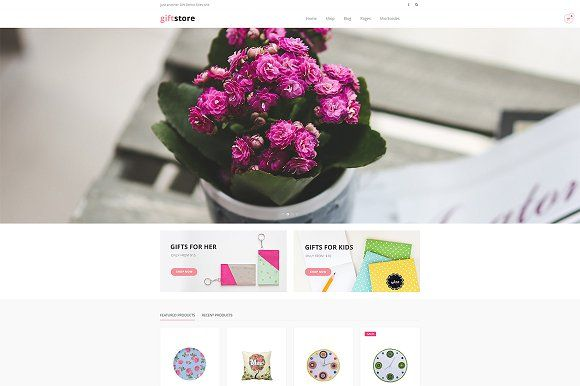DW GiftStore - WP eCommerce Theme by DesignWall on @Graphicsauthor