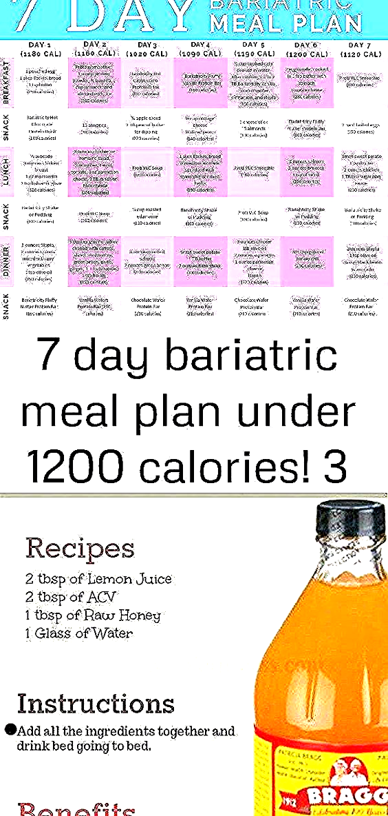 7 day bariatric meal plan under 1200 calories 3