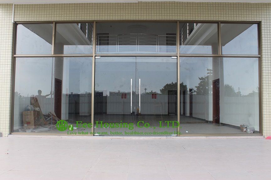 China Manufacturer Commercial Exterior Commercial Frameless Glass Doors For Apartment 12m Frameless Glass Doors Exterior Doors With Glass Glass Entrance Doors