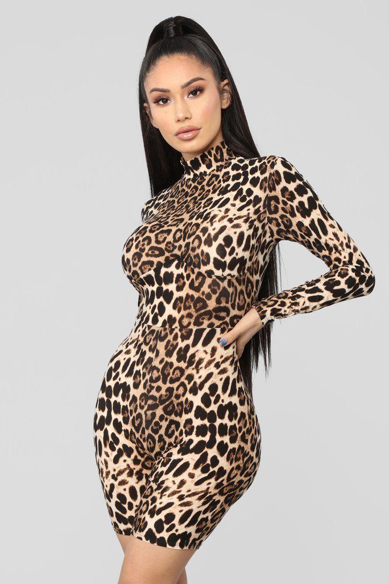 Lovin' Leopard Romper Leopard Fashion clothes women