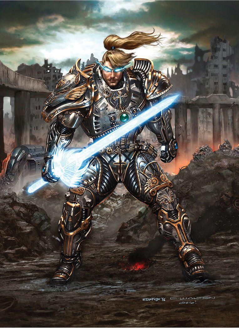 Rifts Cyber Knight Preview Aasimar Solaran Chuckwalton Science