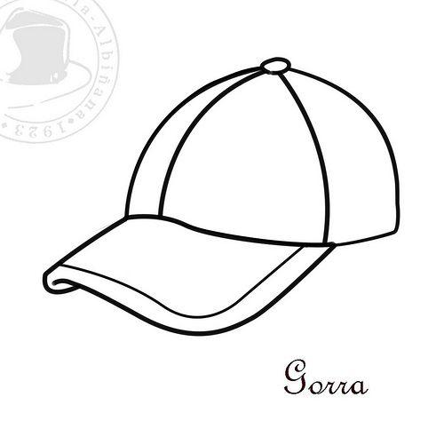 Sombreros para Colorear - Gorra
