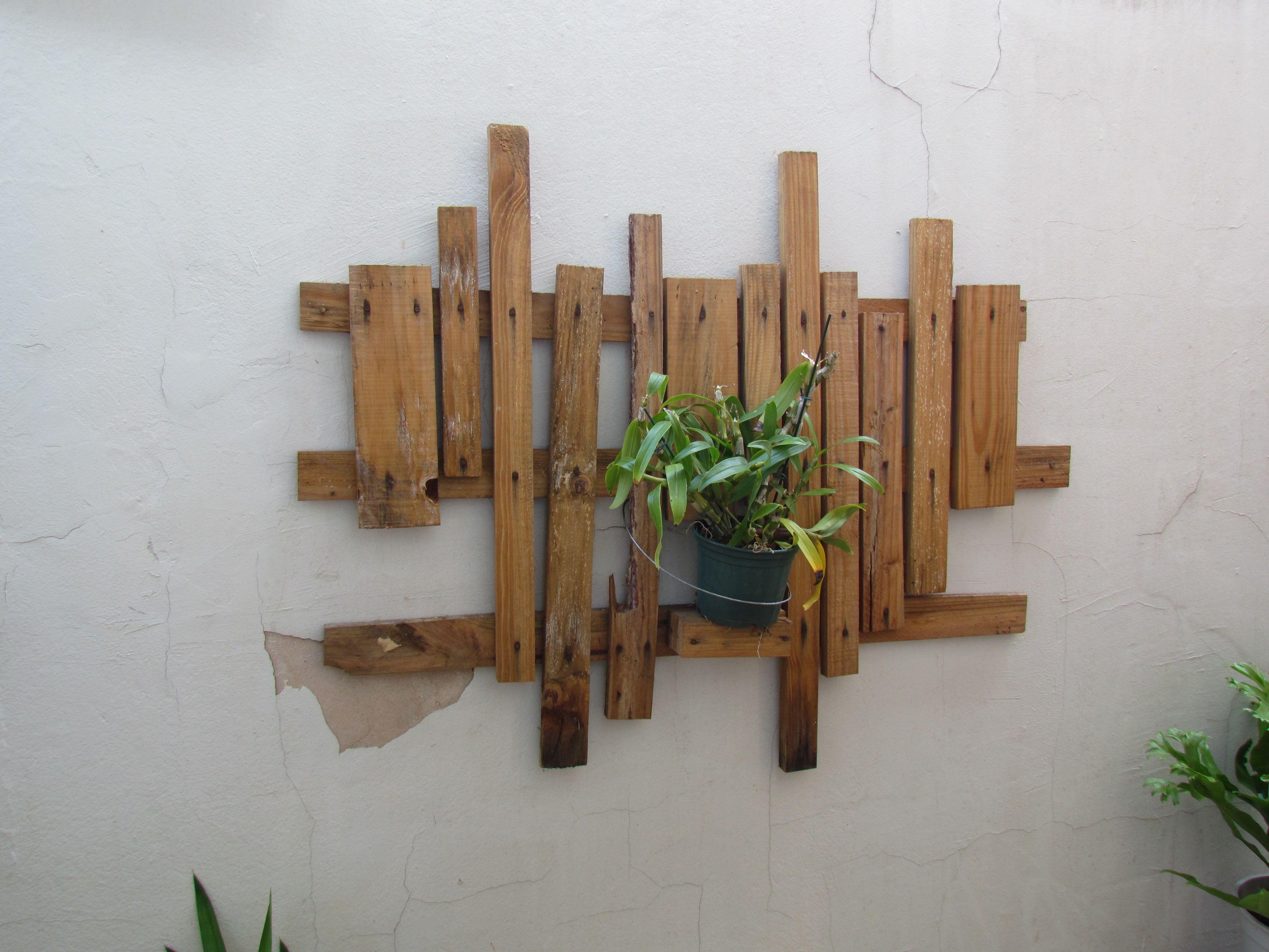 Malokinha de muro para vasos