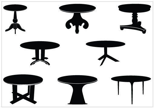 Table Vector Clip Art Pack Download Free Premium Clip Art