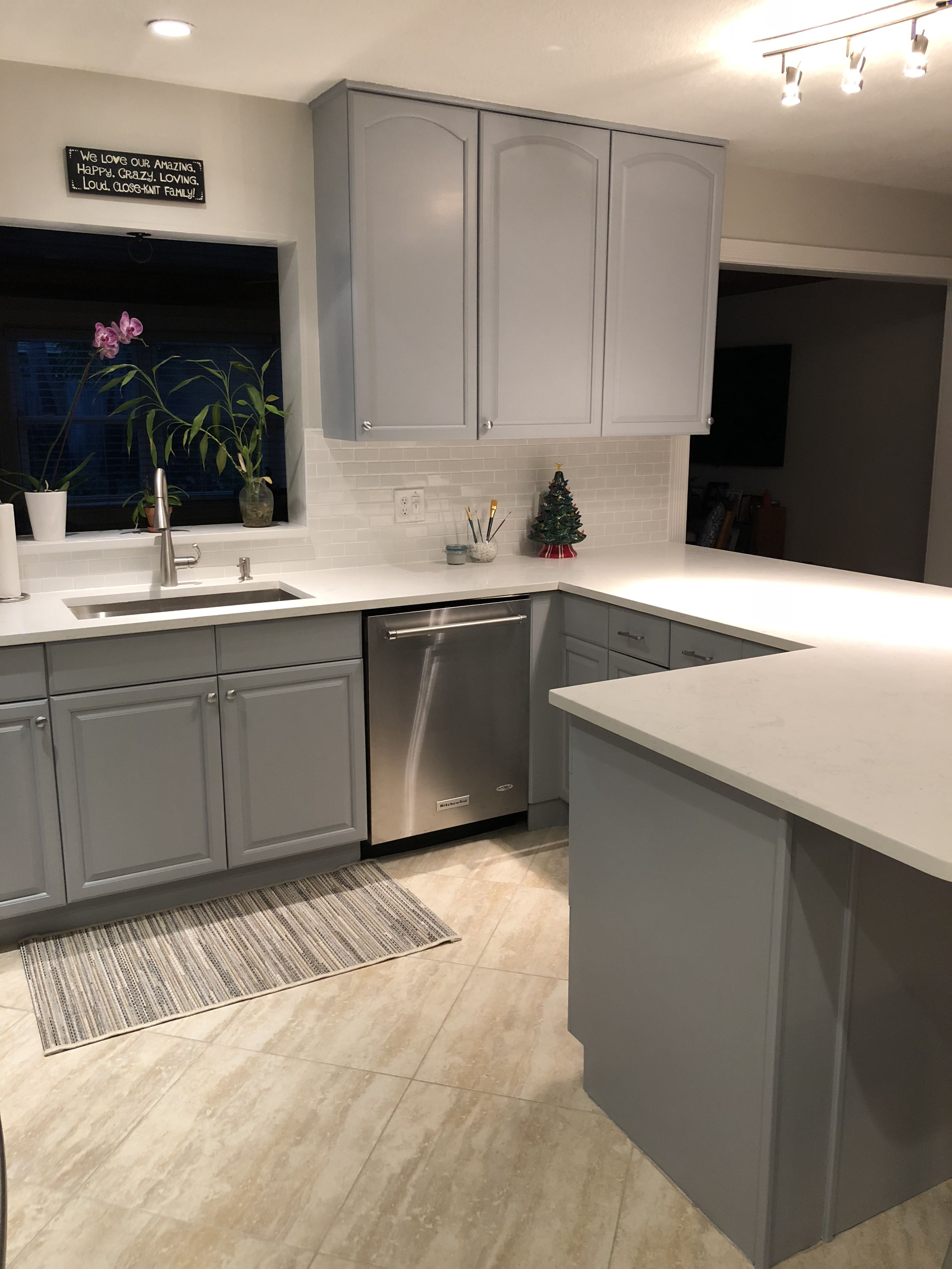 from maple brown to distant grey clean and modern grey kitchens kitchen cabinets on kitchen decor grey cabinets id=63298