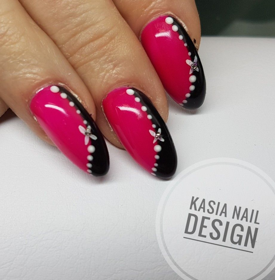Pin by Таточка Костик on Манікюр | Pinterest | Pink nails and Manicure