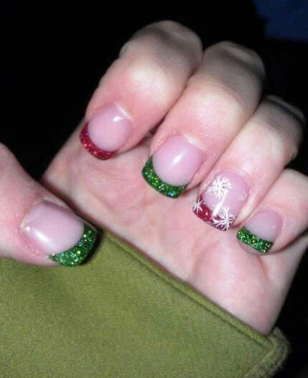 31 ideas for your christmas manicure finger christmas nail art manicure christmas nail art design ideas 2013 2014 prinsesfo Image collections