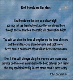 Friend Forever Poems 6