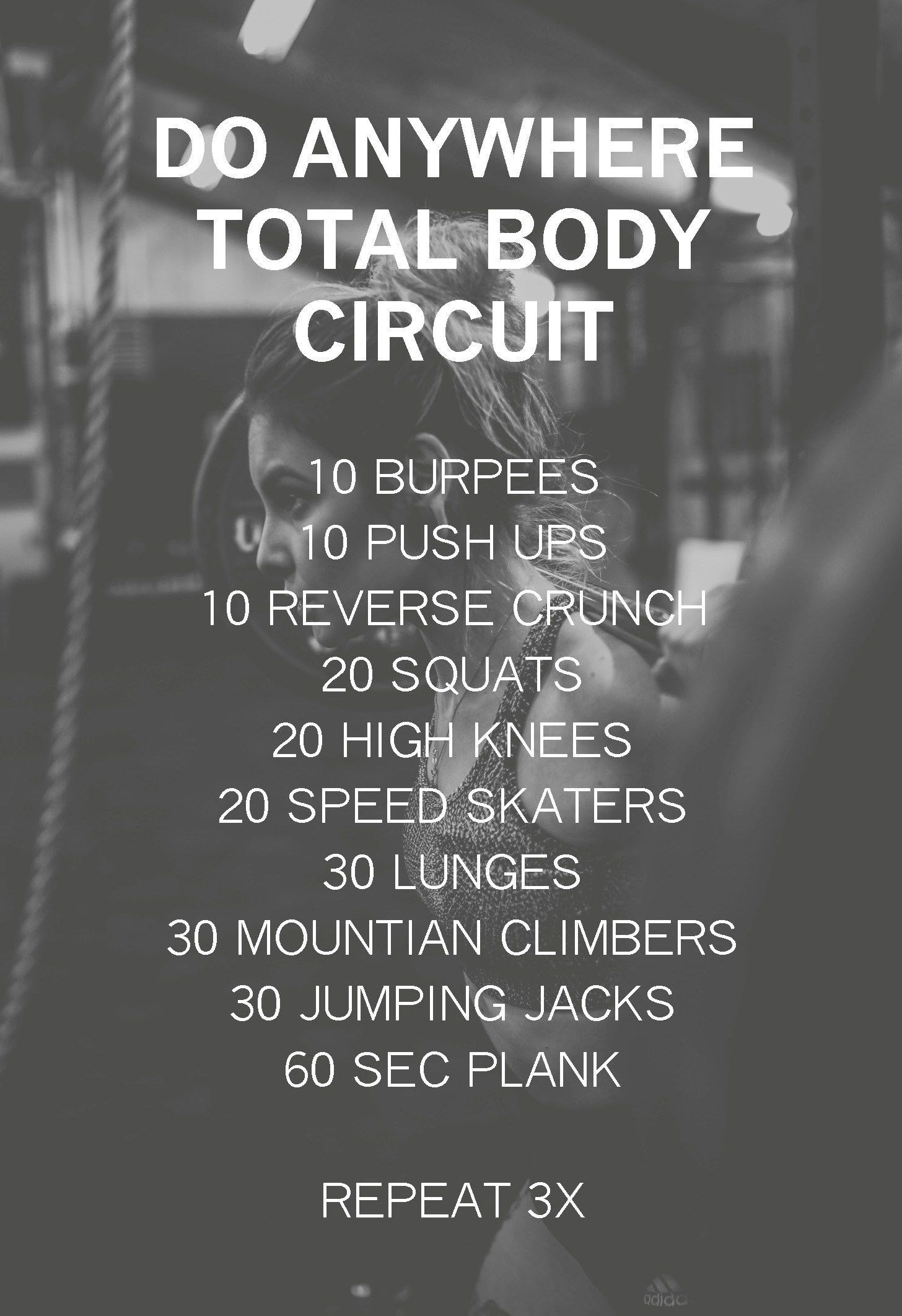 Do Anywhere Total Body Circuit Workout   Experiments In Wellness