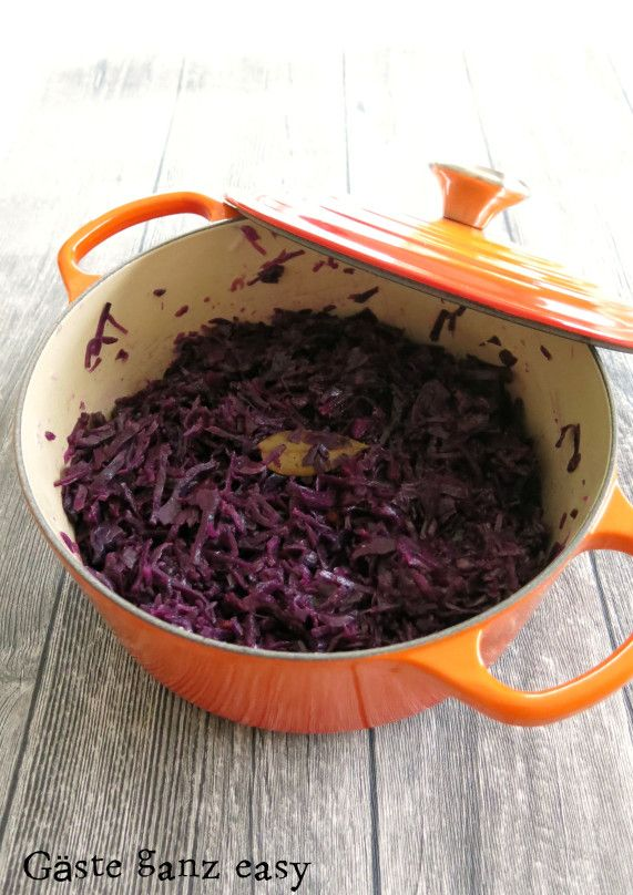 Photo of Homemade red cabbage as from grandma