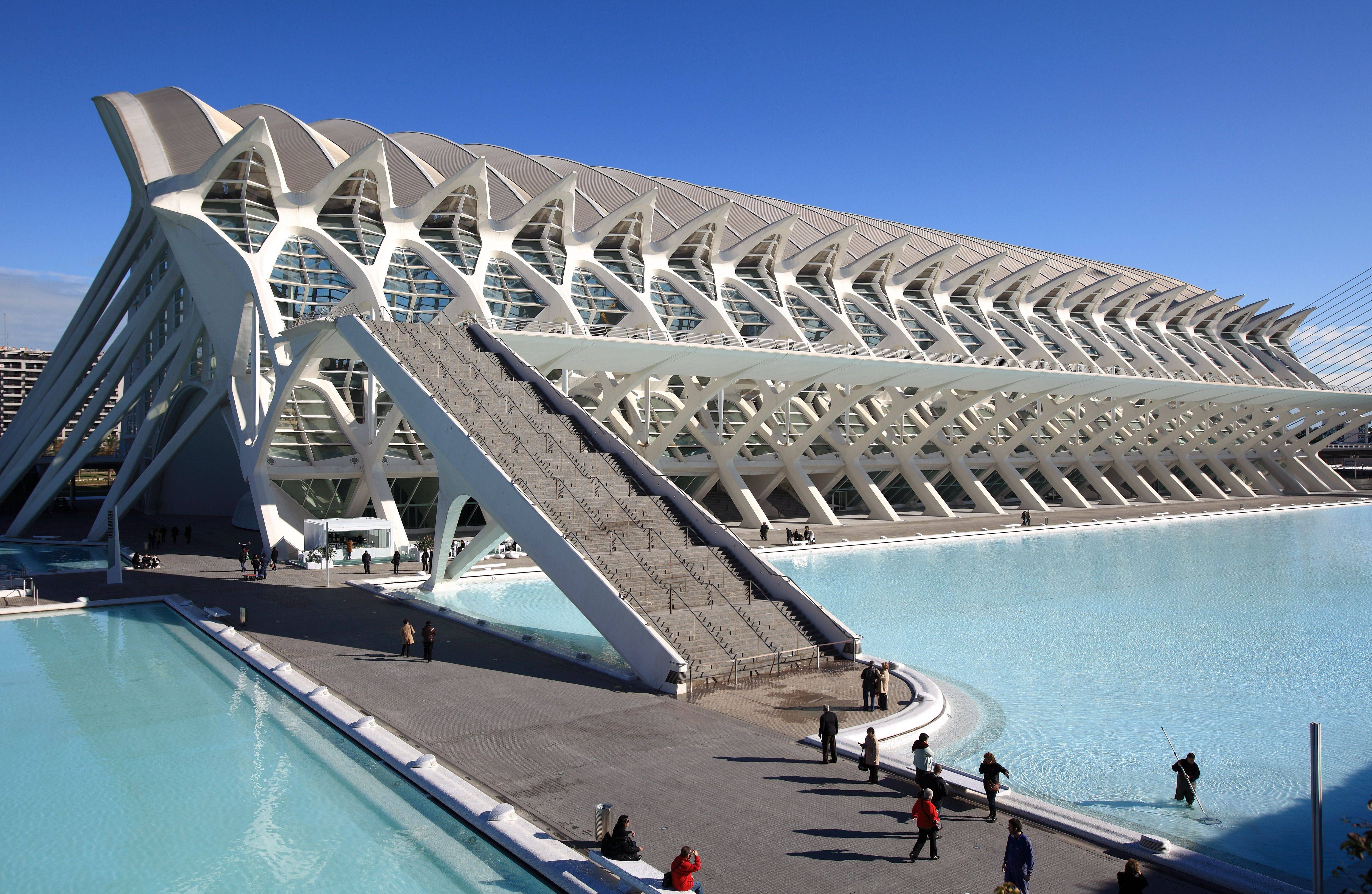 Official Site Of The City Of Arts And Sciences Of Valencia Spain Futuristic Architecture Tomorrowland Movie Underwater City