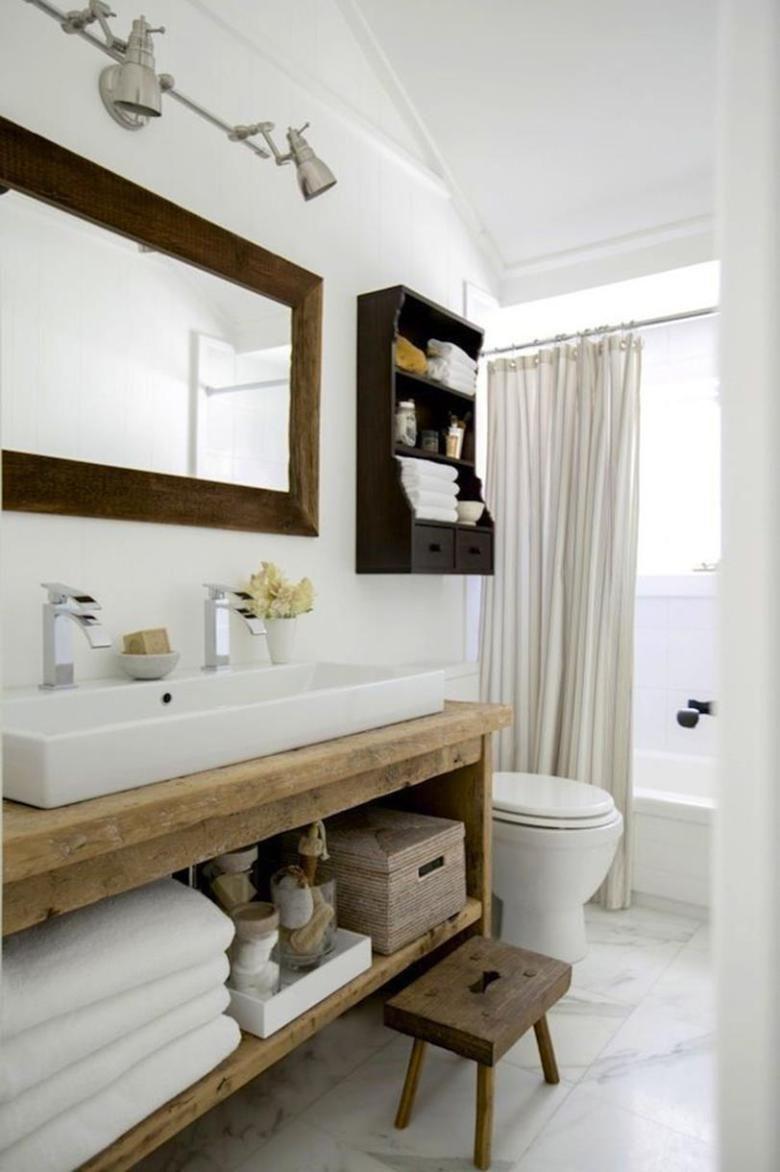 38 Stunning Modern Country Style Bathrooms in 2018   Bathroom Ideas ...