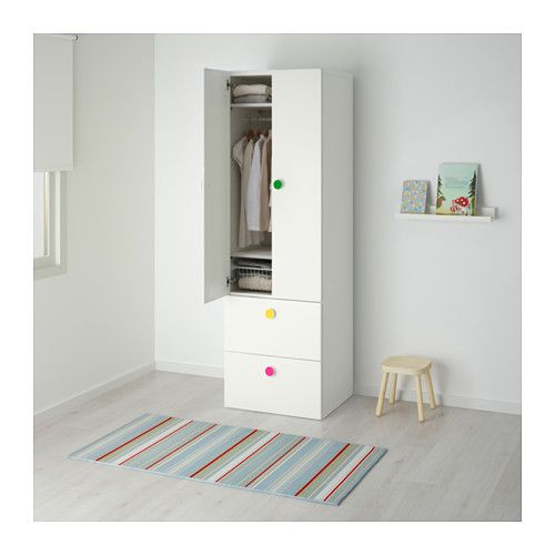 Elegant STUVA F LJA Kleiderschrank m T ren Schubl IKEA
