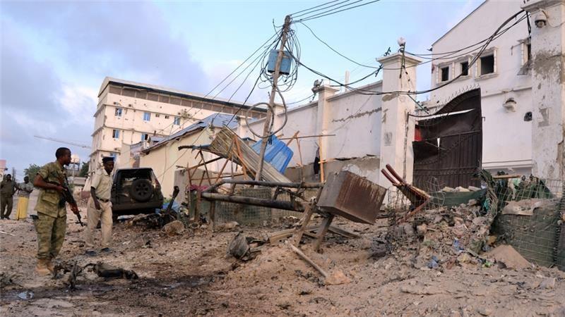 Seven People Killed In Somalia Hotel Siege