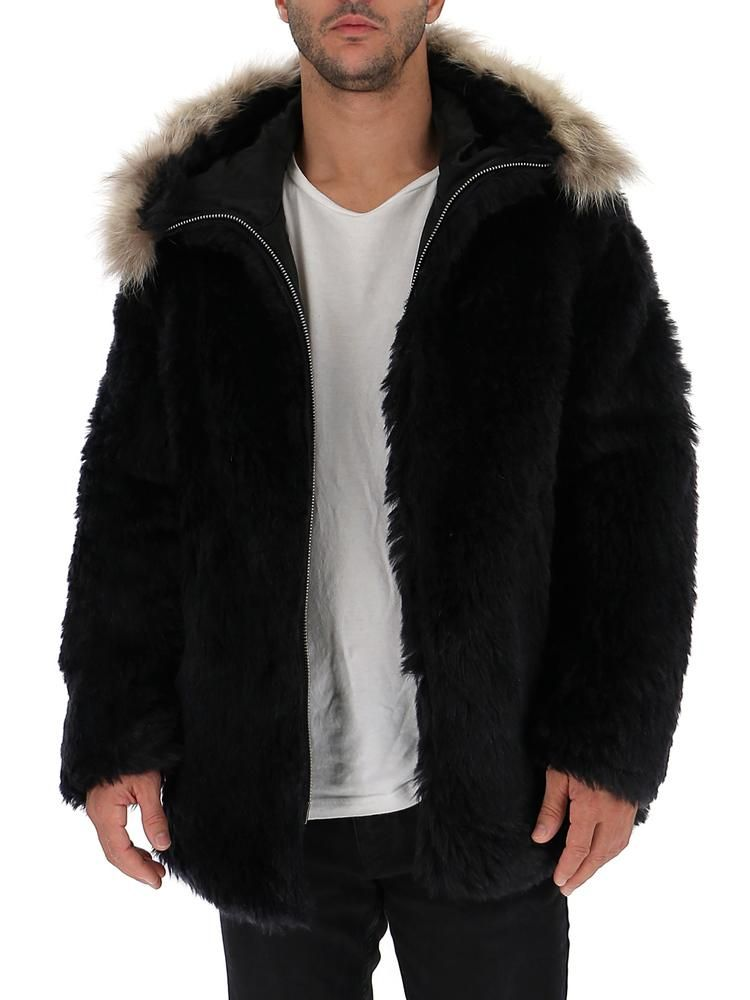 2676a97de21 SAINT LAURENT SAINT LAURENT FUR TRIMMED HOODED JACKET. #saintlaurent #cloth Faux  Fur Jacket