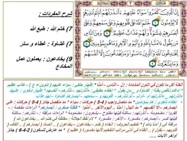 سورة البقرة مع شرح المفردات و أحكام التجويد الأساسية فيها منتديات الجلفة لكل الجزائريين و العرب Bullet Journal Journal Supplies