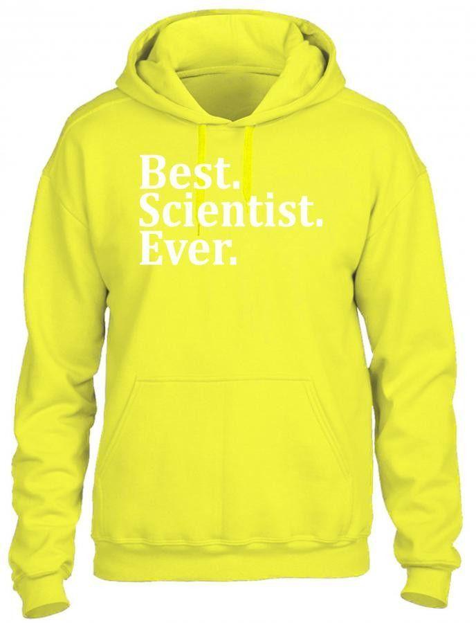 best scientist ever t shirt design 1 HOODIE