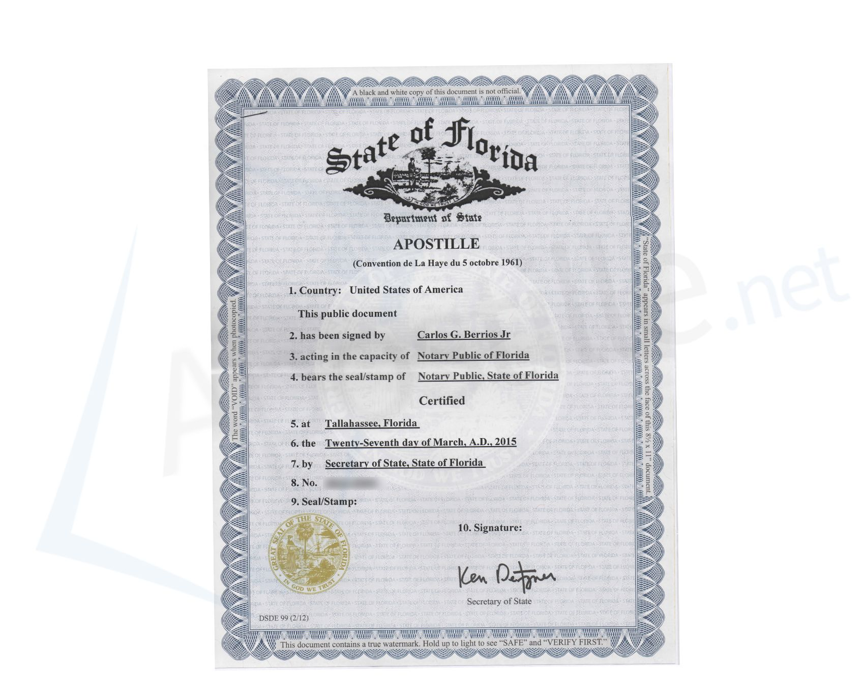 State of florida certificate of good standing state of florida state of florida certificate of good standing state of florida sample apostille pinterest certificate 1betcityfo Gallery