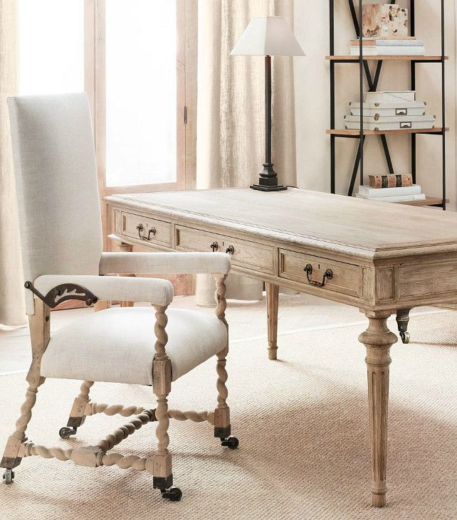 Restoration Hardware Will Definitely Have These Two Pieces Eventually For My Own Office French Partner S Desk