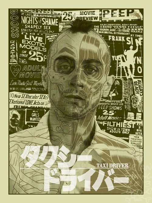 Taxi Driver by Brian Ewing