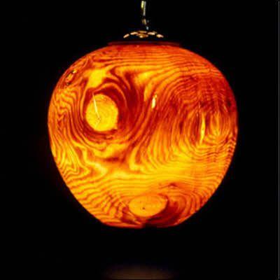 Træ-lampeskærme foto - 3