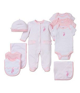 fde1ae7ca Little Me Baby Girls Preemie-9 Months Prima Ballerina Footed Coverall & Hat  Set, Blanket, Bodysuit, Bib