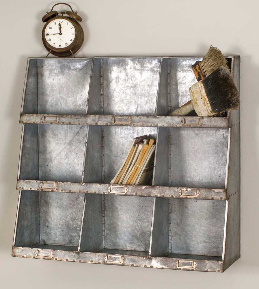 Enhance your wall space with this unique metal piece would do well