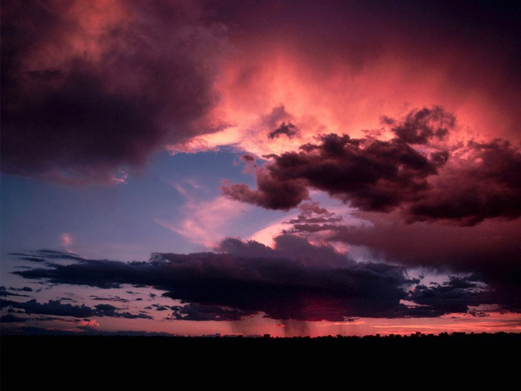 Ka desert storm clouds dark sky sunset sky clouds - Nature ka wallpaper ...