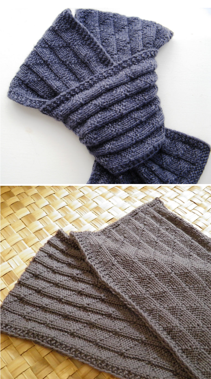 Reversible Knitting Patterns For Scarves Magnificent Inspiration Ideas