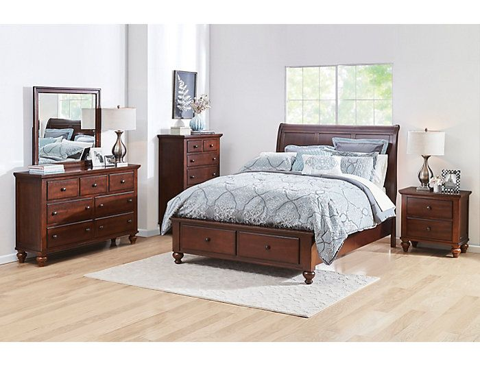 Best Chatham 5 Piece Queen Bedroom Set Outlet At Art Van 640 x 480