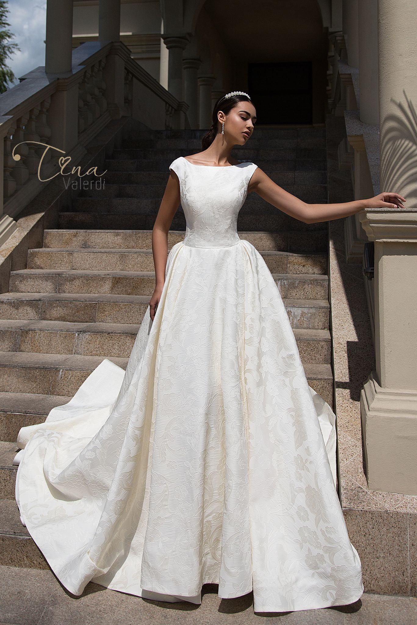 b50c190017cfe SOFIA DRESS BY TINA VALERDI. Find this Pin and more on BEST WEDDING DRESSES  in TAMPA BAY by Charme Gaby Bridal Boutique ...