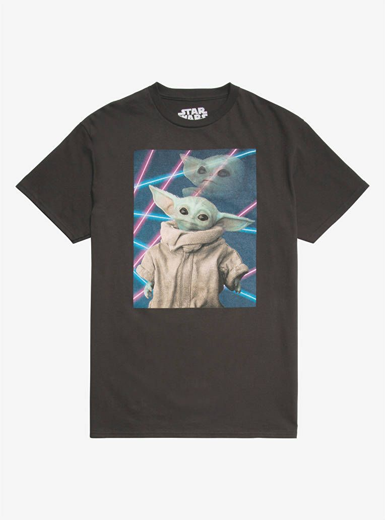 Star Wars The Mandalorian The Child Cute Scene T-Shirt