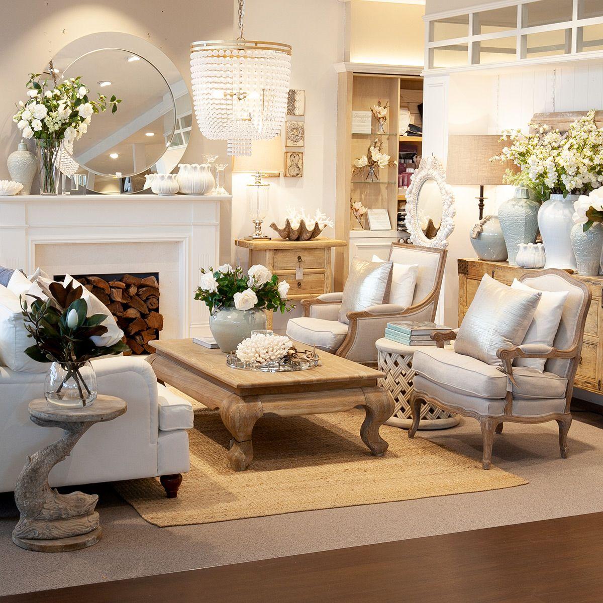 Living Room With Soft Aqua Colours Romantic Living Room Living